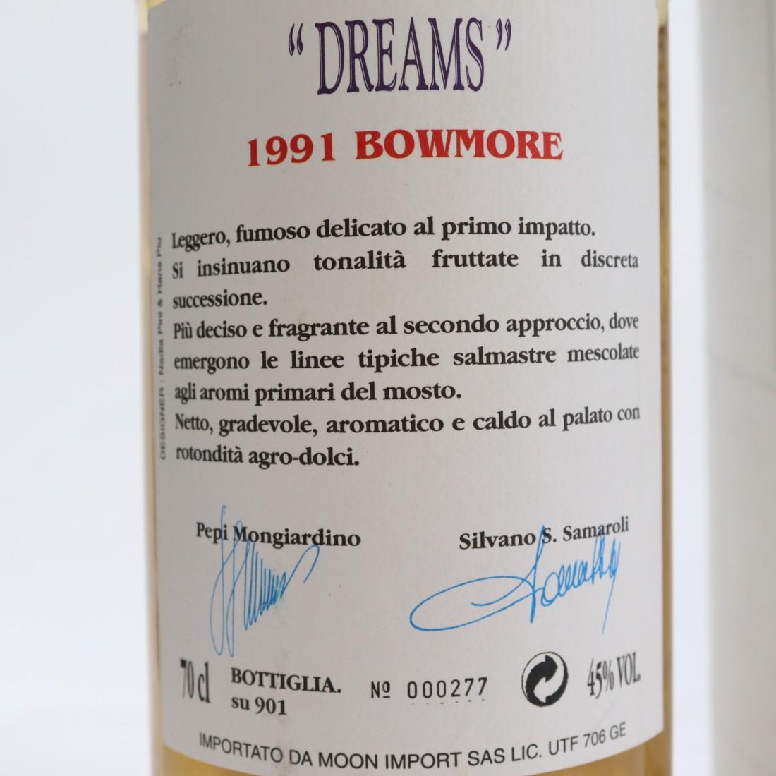 Bowmore 1991 Samaroli & Moon Import / Dreams