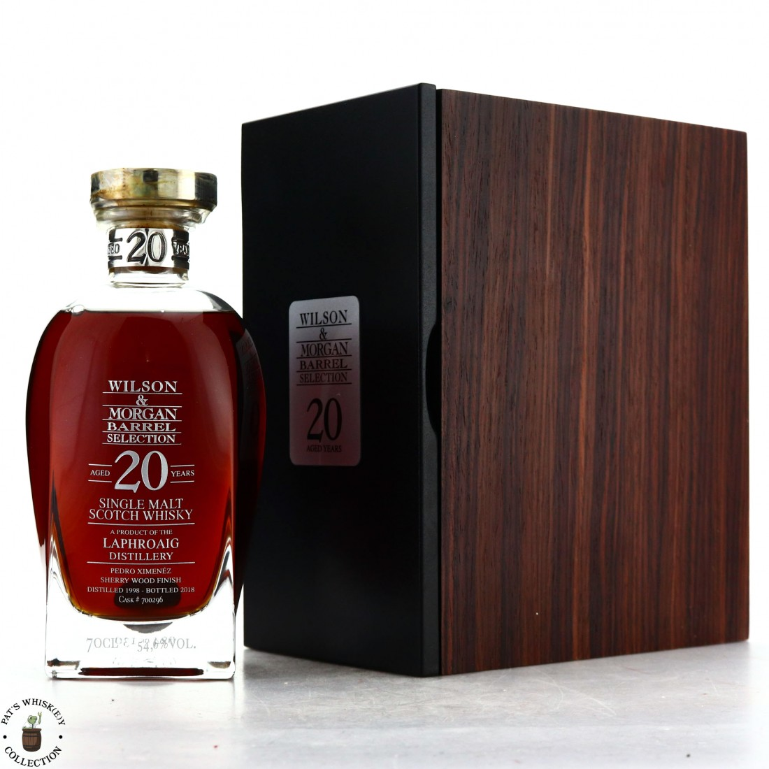 Laphroaig 1998 Wilson and Morgan 20 Year Old Decanter