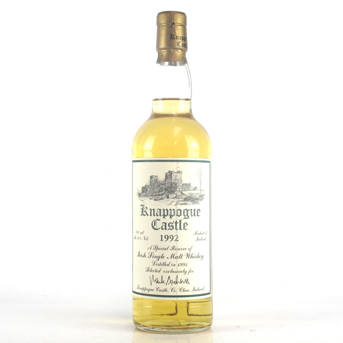 Knappogue Castle 1992 Irish Single Malt