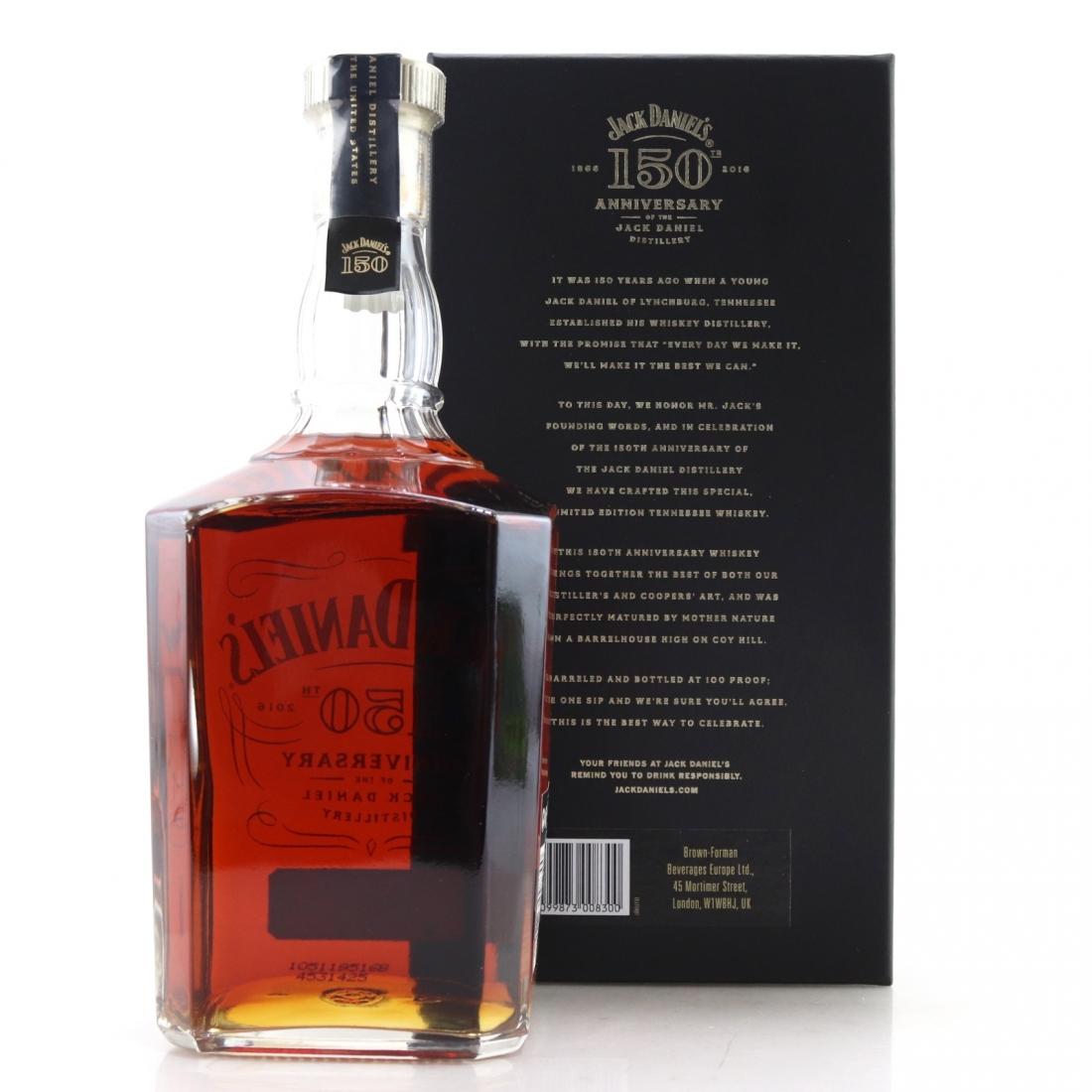 Jack Daniel's 150th Anniversary 100 Proof 1 Litre