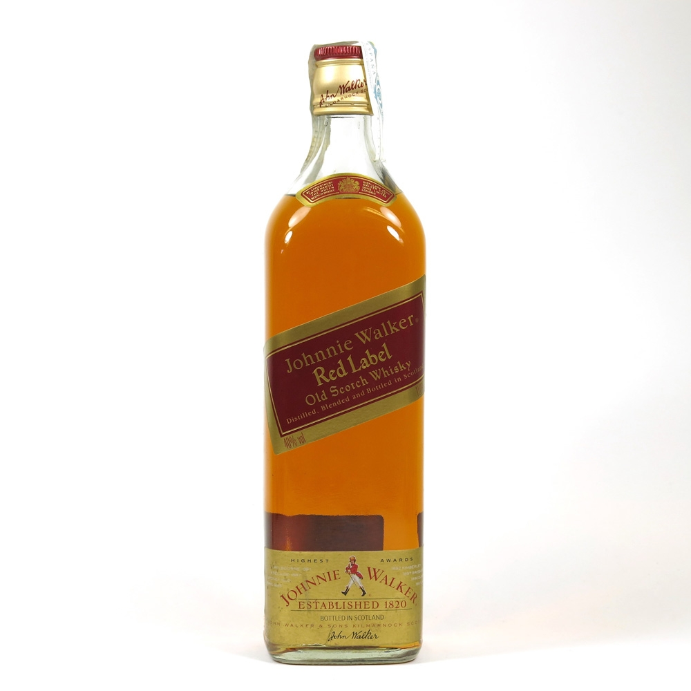 Johnnie Walker Red Label 1 Litre Front