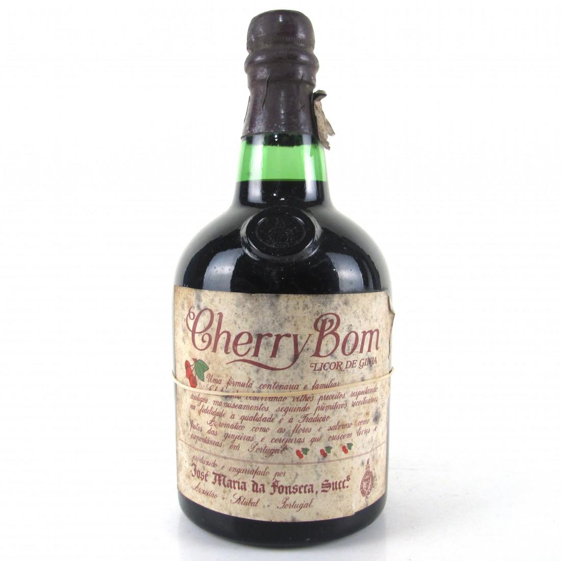 Cherry Bom Licor de Ginja Circa 1960s