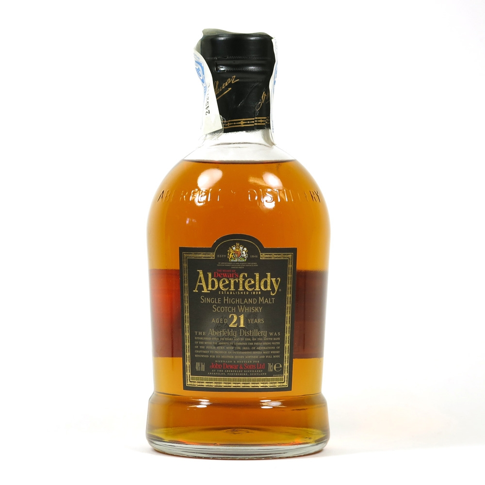Aberfeldy 21 Year Old Front