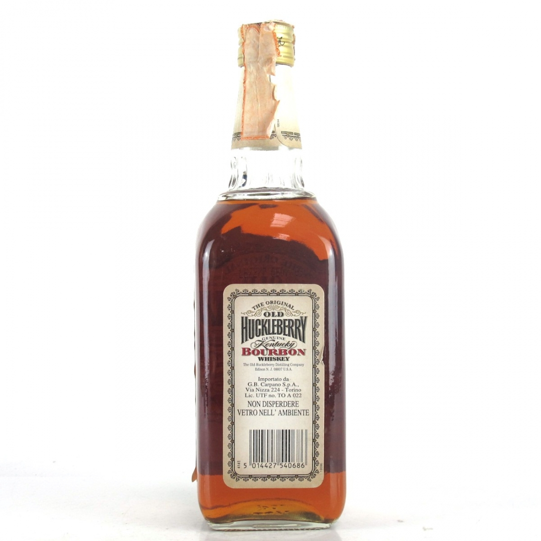 Old Huckleberry Kentucky Bourbon / Carpano Import