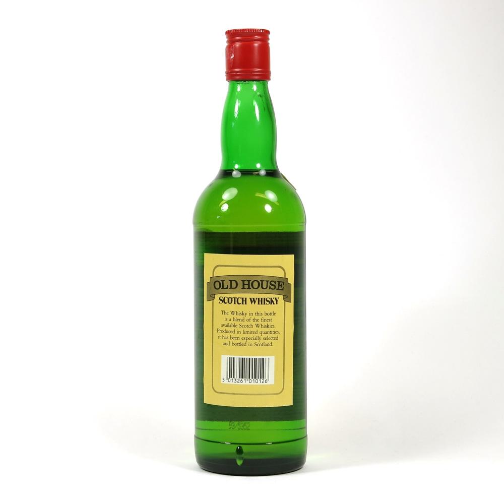 Old House Scotch Whisky Back