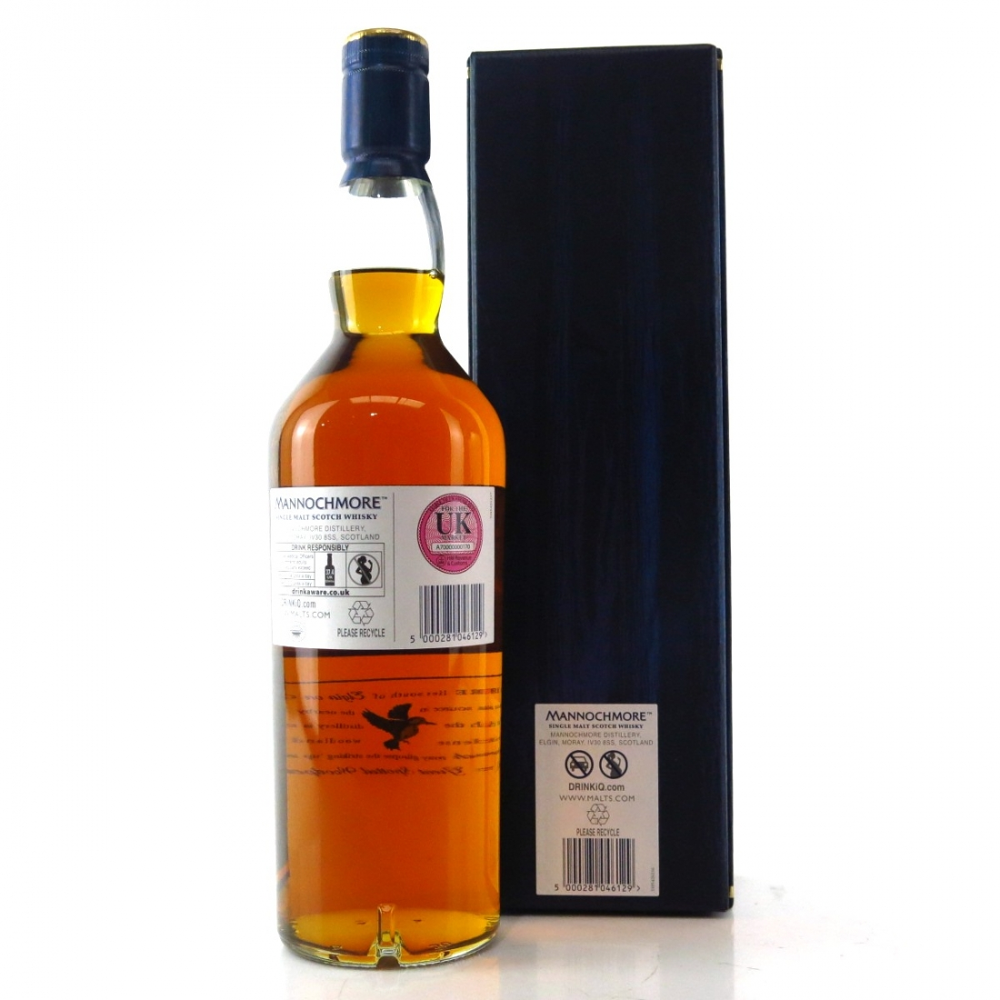 Mannochmore 1990 Cask Strength 25 Year Old