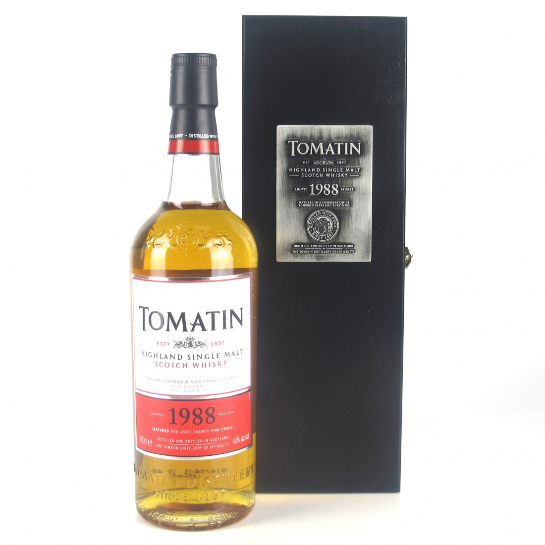 Tomatin 1988 25 Year Old Batch #1