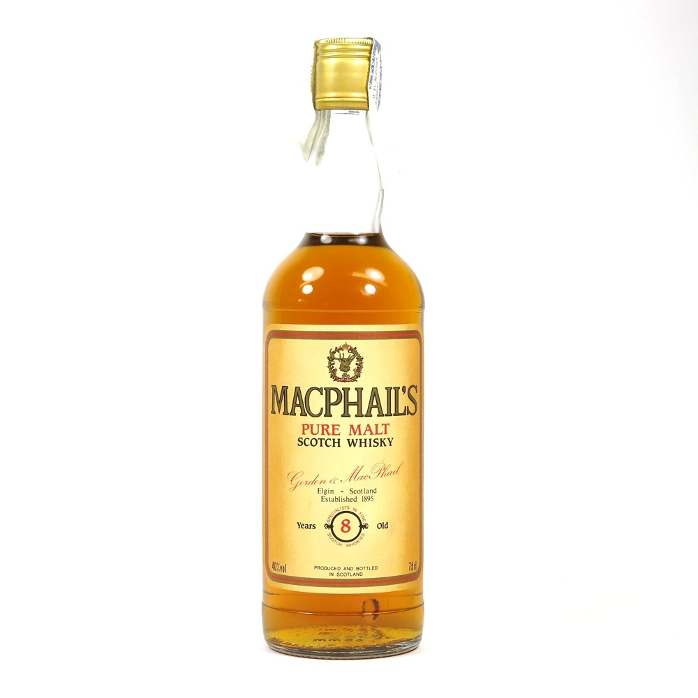 Macphail's 8 Year old Pure Malt 1980s Front