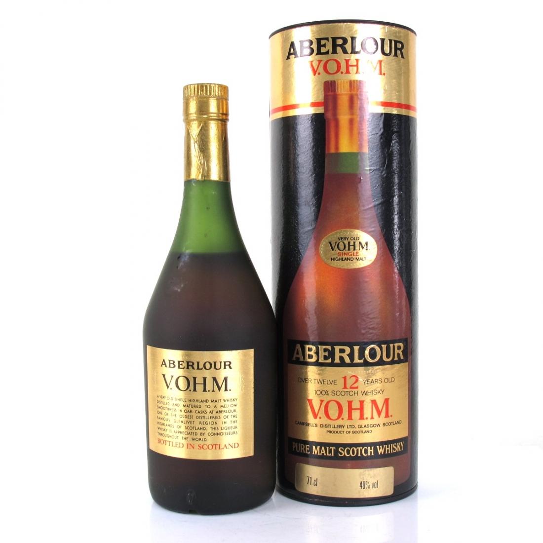 Aberlour 12 Year Old VOHM 71cl