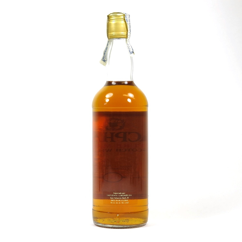 Macphail's 8 Year old Pure Malt 1980s Back