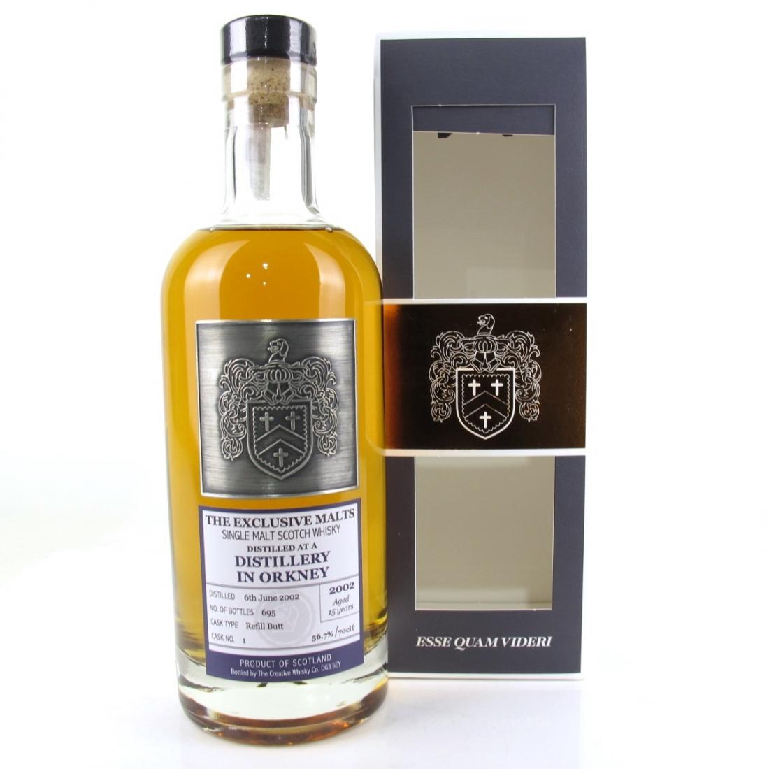 Highland Park 2002 Creative Whisky Co 15 Year Old