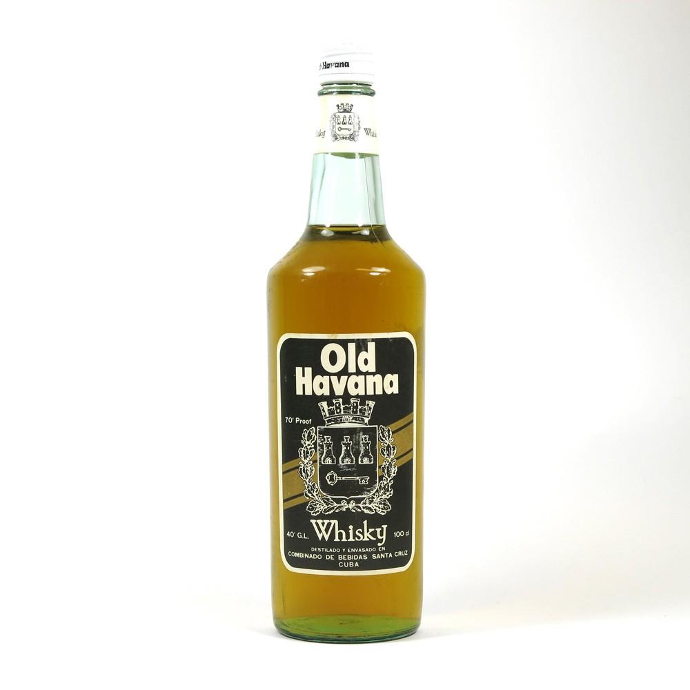 Old Havana Whisky 1970s 1 Litre Front