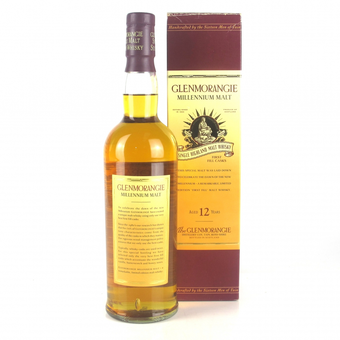 Glenmorangie 12 Year Old Millennium Limited Edition