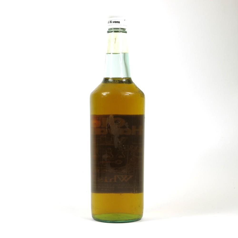 Old Havana Whisky 1970s 1 Litre Back