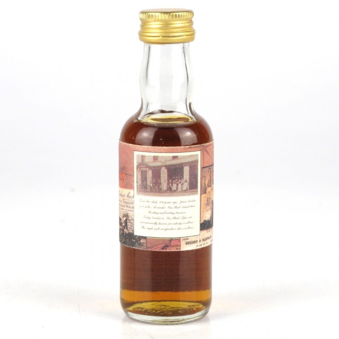 Highland Park 1970 Gordon and MacPhail 5cl Miniature