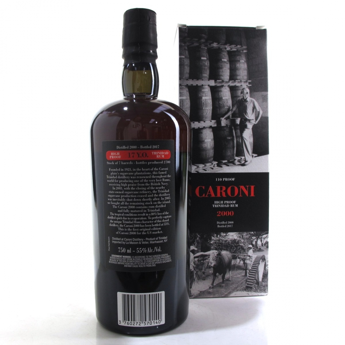 Caroni 2000 High Proof 17 Year Old 75cl / US Import