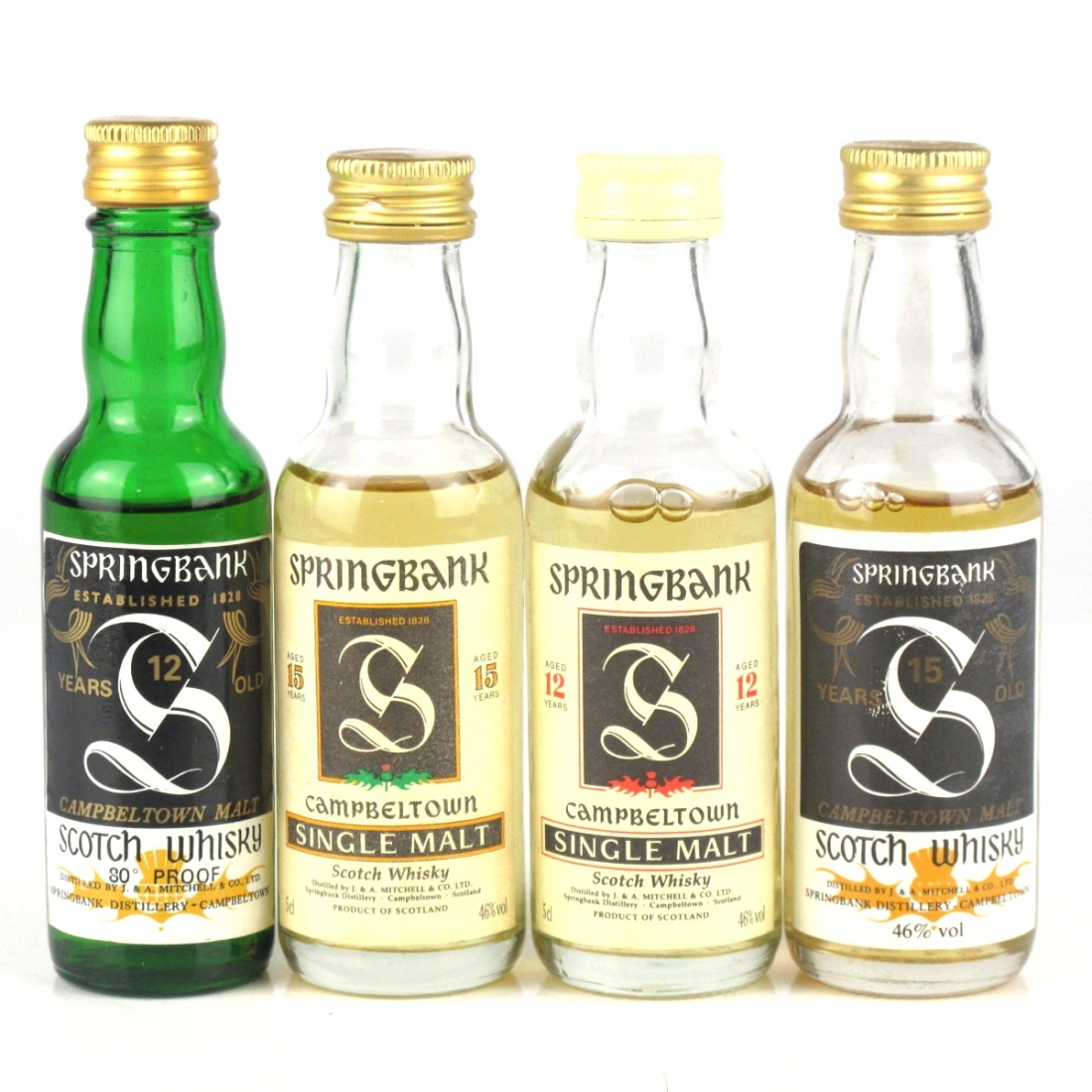 Springbank Miniature Selection 4 x 5cl