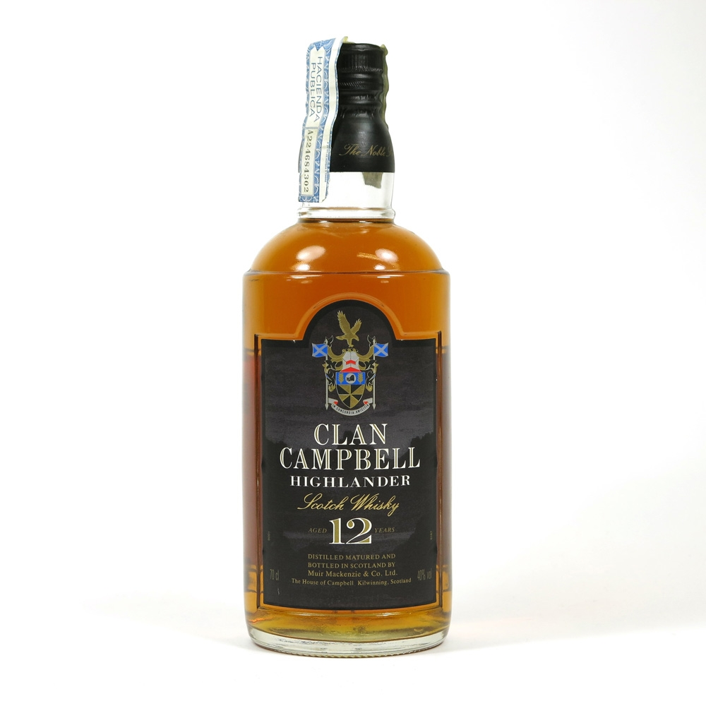 Clan Campbell 12 Year Old Front