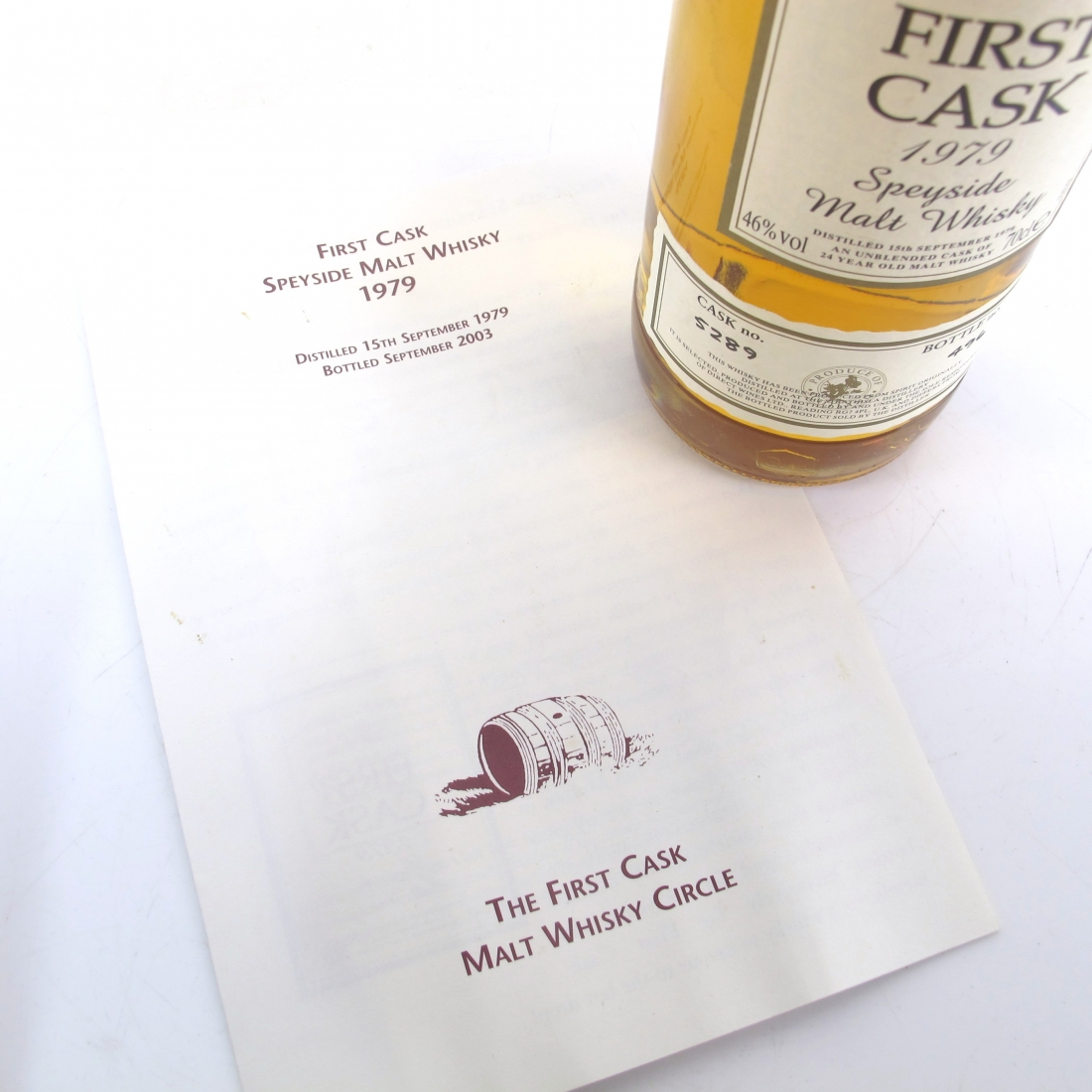 Strathisla 1979 First Cask 24 Year Old
