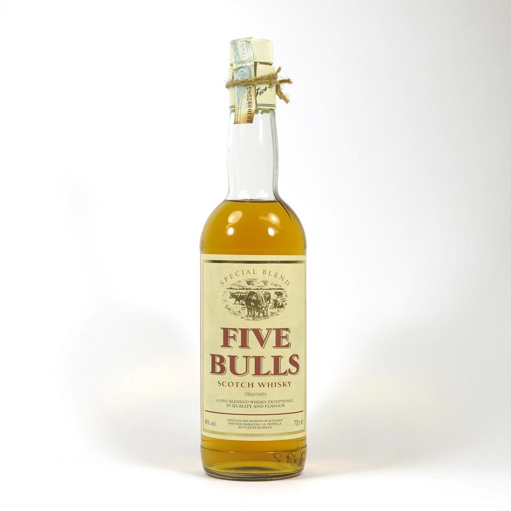 Five Bulls Scotch Whisky Front