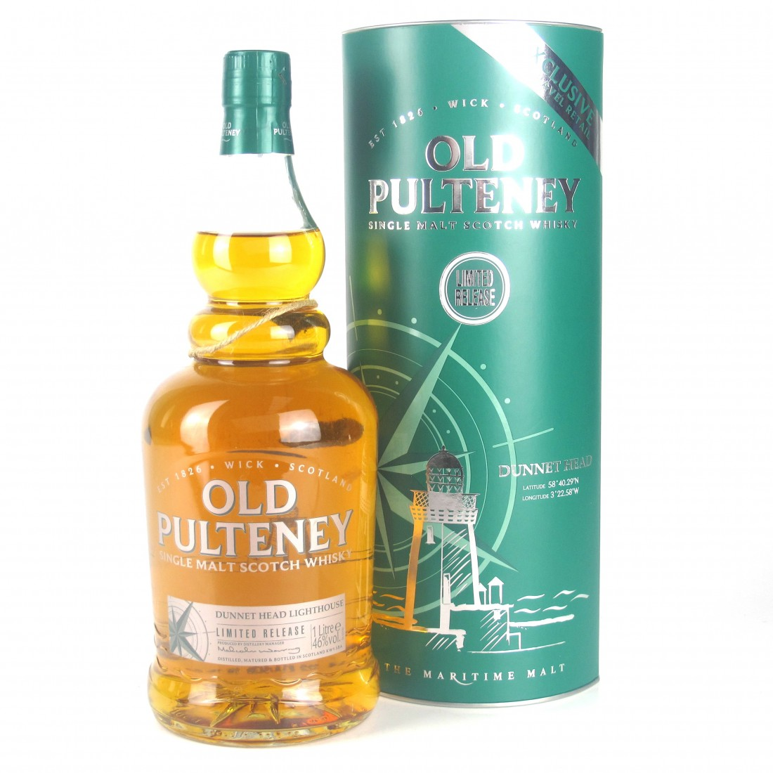 Old Pulteney Dunnet Head 1 Litre / Travel Retail Exclusive