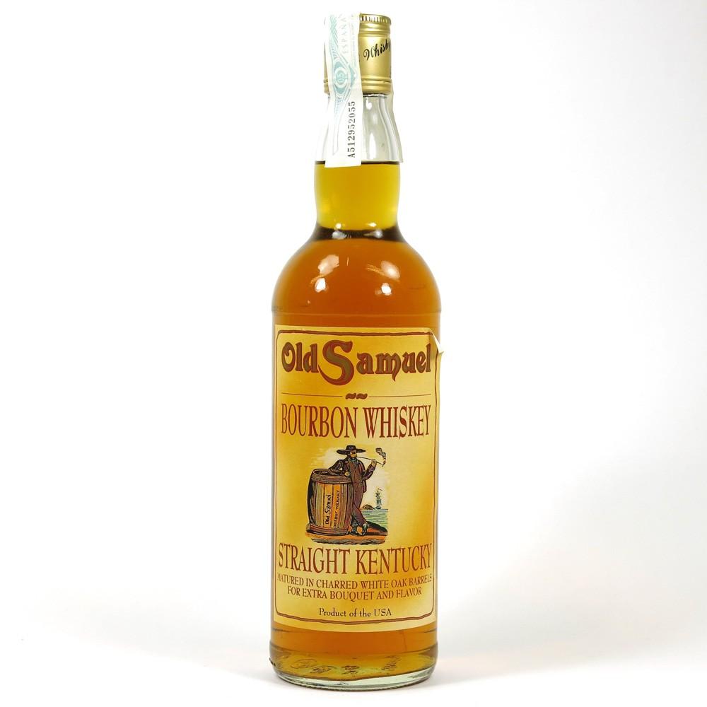 Old Samuel Bourbon Whiskey front
