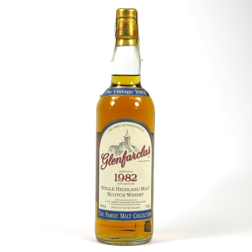 Glenfarclas 1982 Family Collection Front