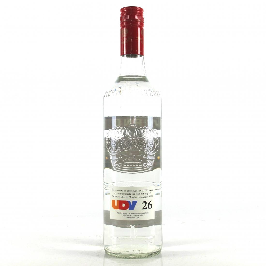 Smirnoff Vodka First 70cl 1999 / UDV Leven