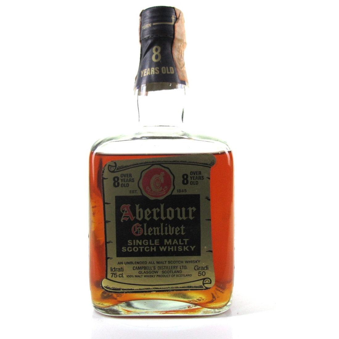 Aberlour 8 Year Old 1980s / Rinaldi Import