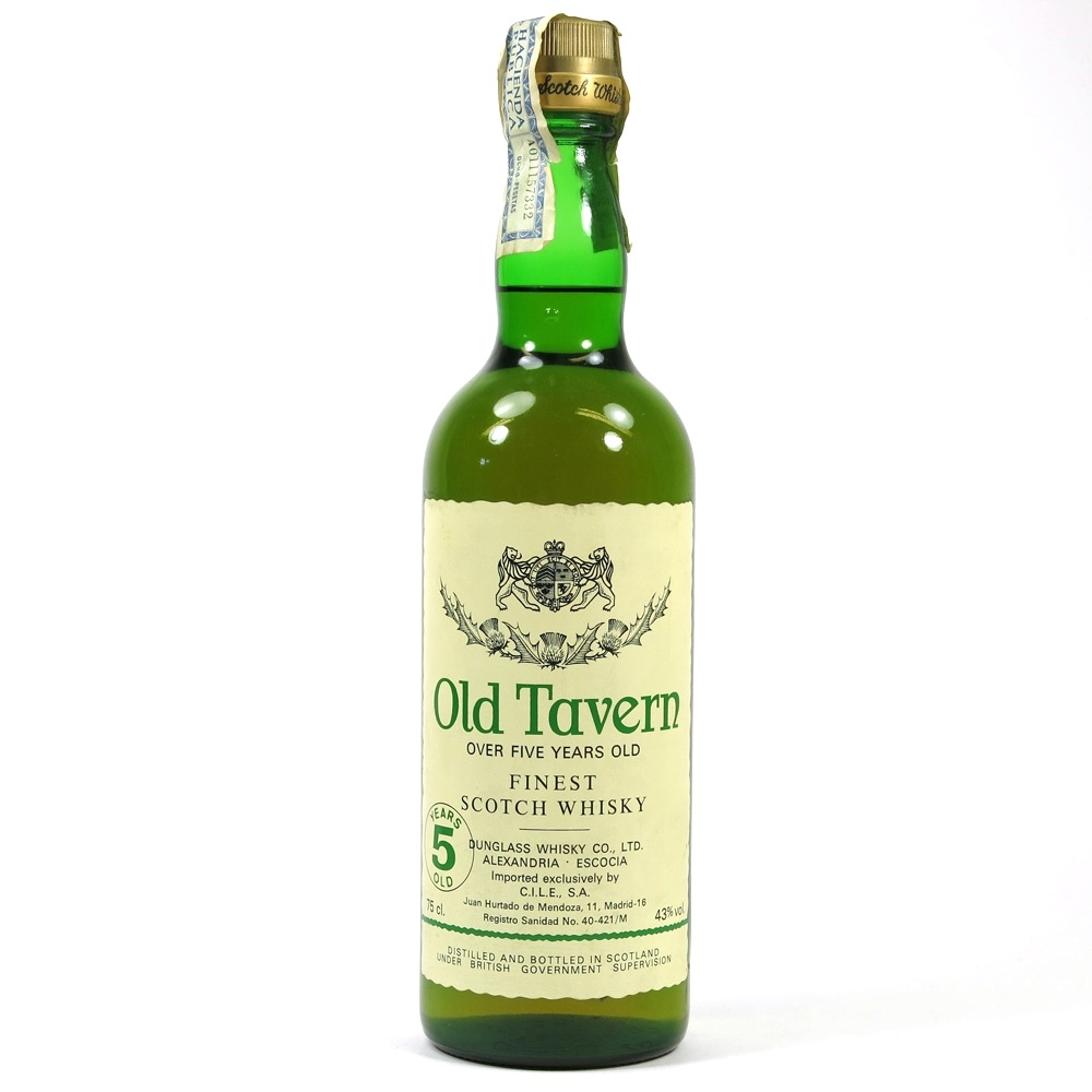 Old Tavern Over Five Years Old 1980s 1 Litre Front