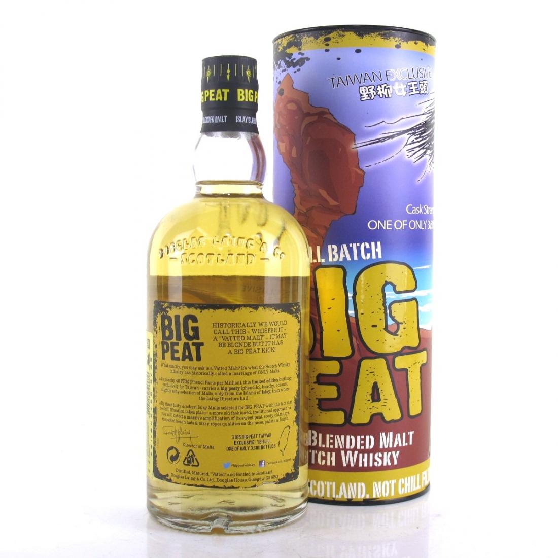 Big Peat Cask Strength Taiwan Exclusive