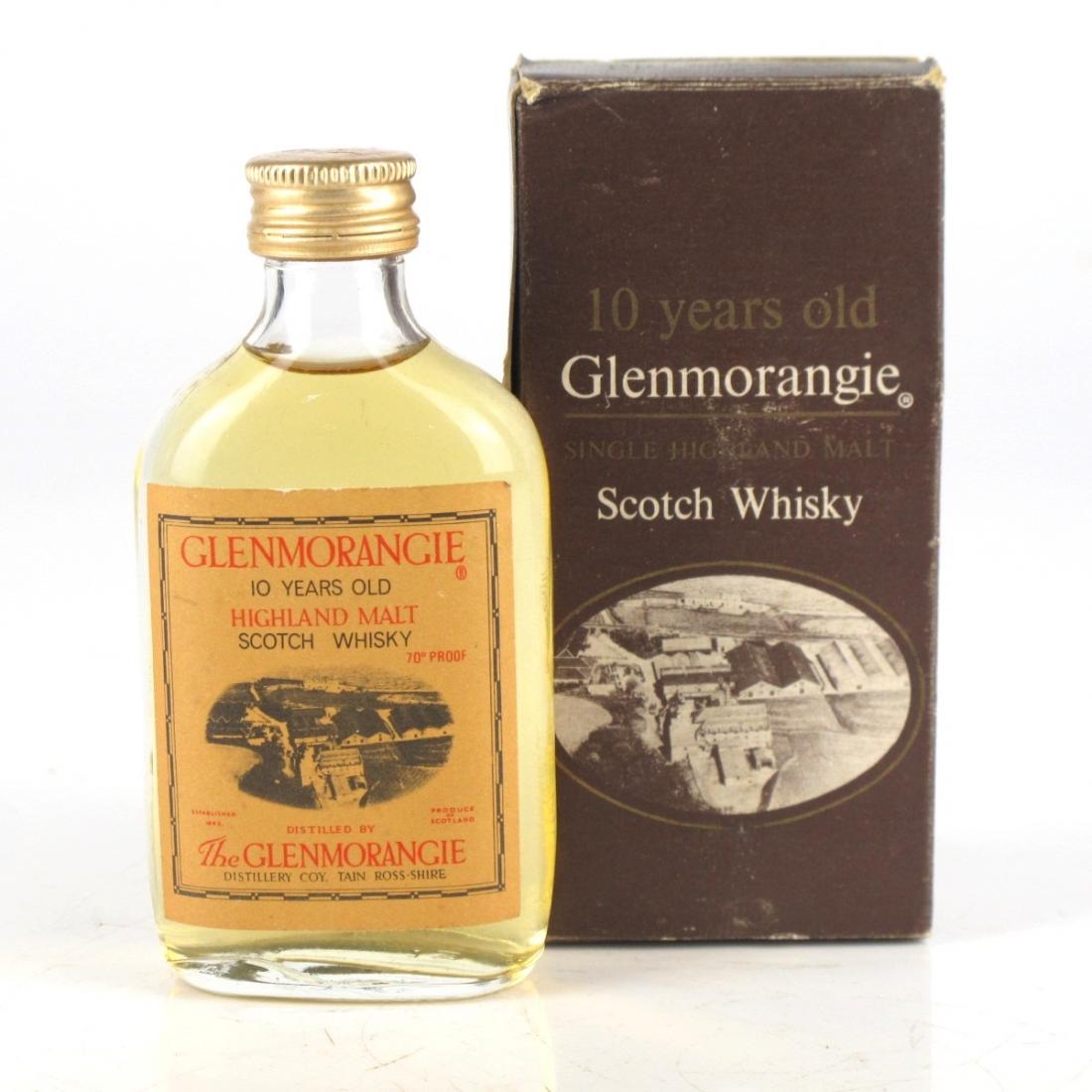Glenmorangie 10 Year Old 1970s Miniature