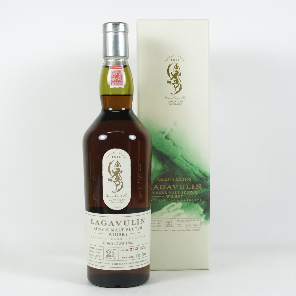 Lagavulin 21 Year Old 1991 Front