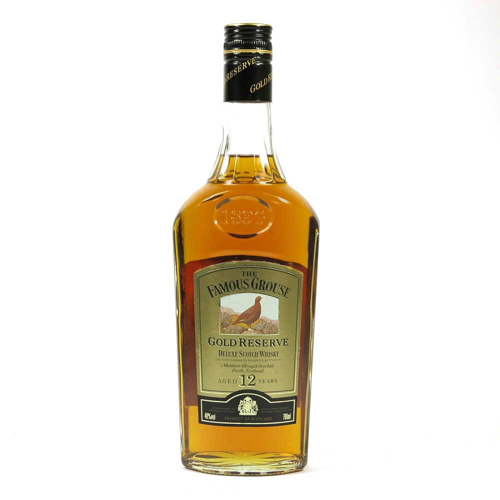 Famous Grouse 12 Year Old Gold Reserve Front