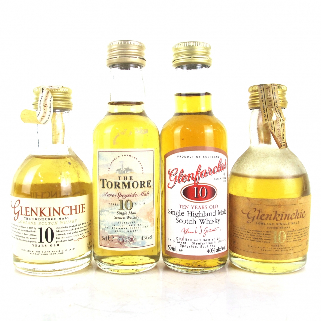 Single Malt Miniature Selection 4 x 5cl
