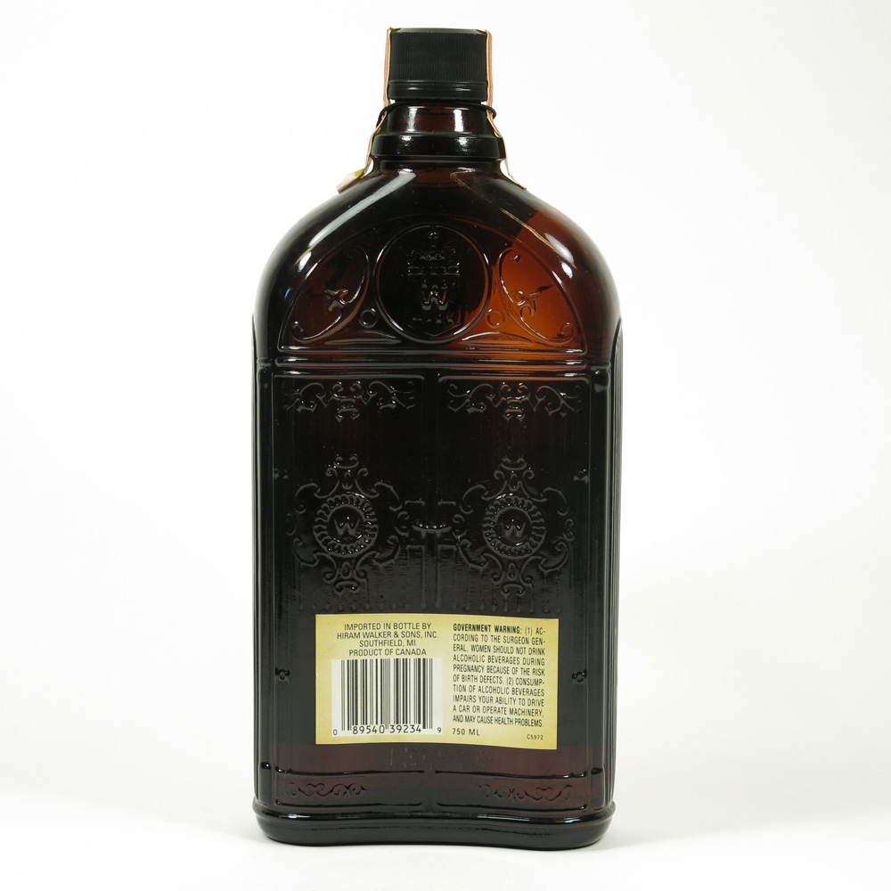 Canadian Club Prohibition Limited Edition Gate Bottles / Replica 1920 Back