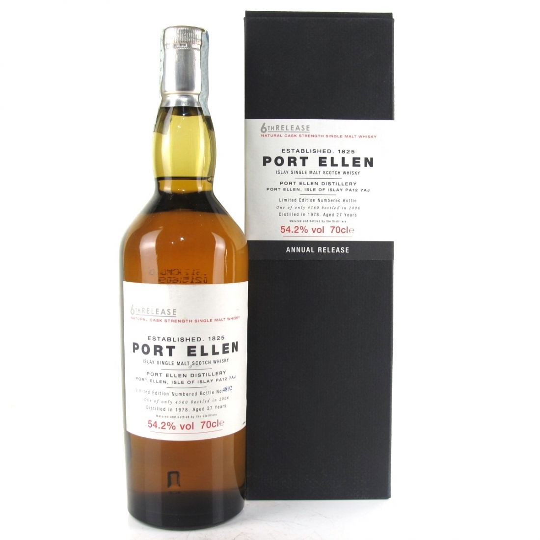 Port Ellen 1978 27 Year Old 6th Release