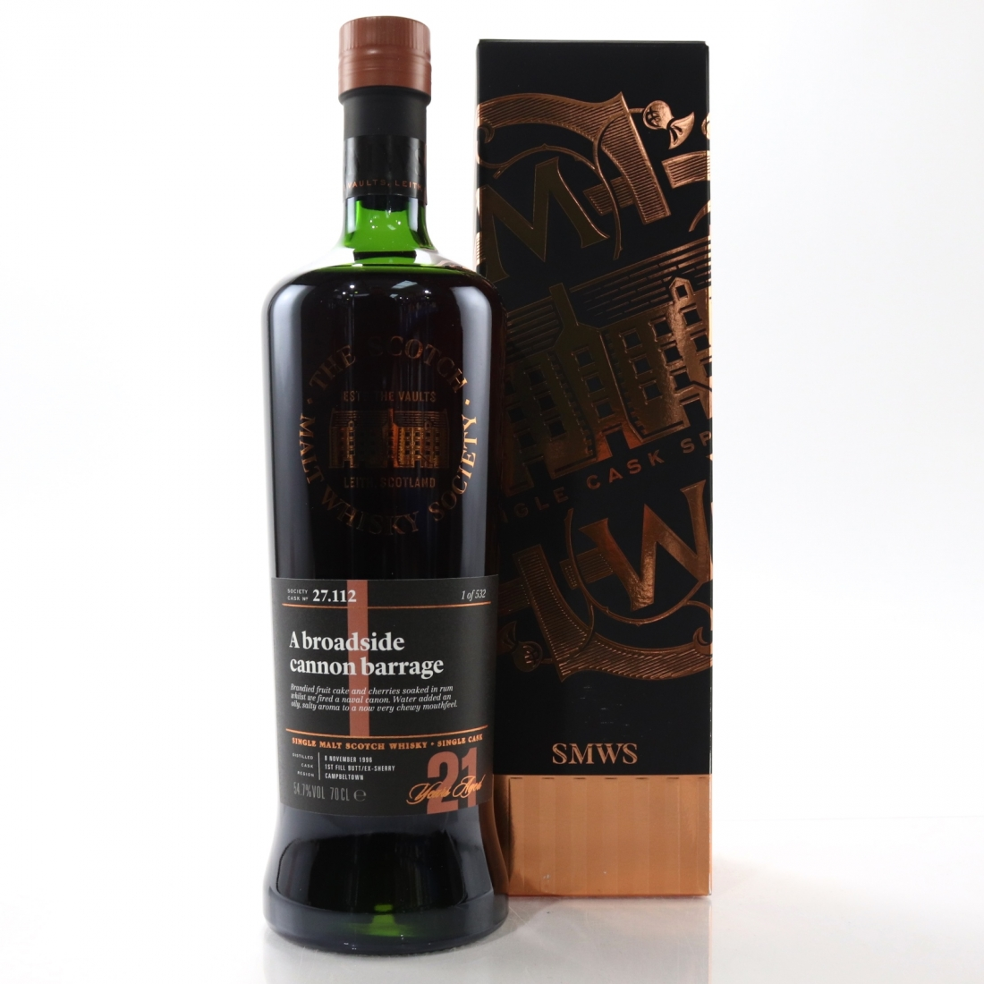 Springbank 1996 SMWS 21 Year Old 27.112