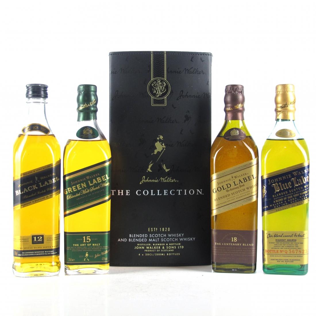 Johnnie Walker The Collection 4 x 20cl / Art of Blending