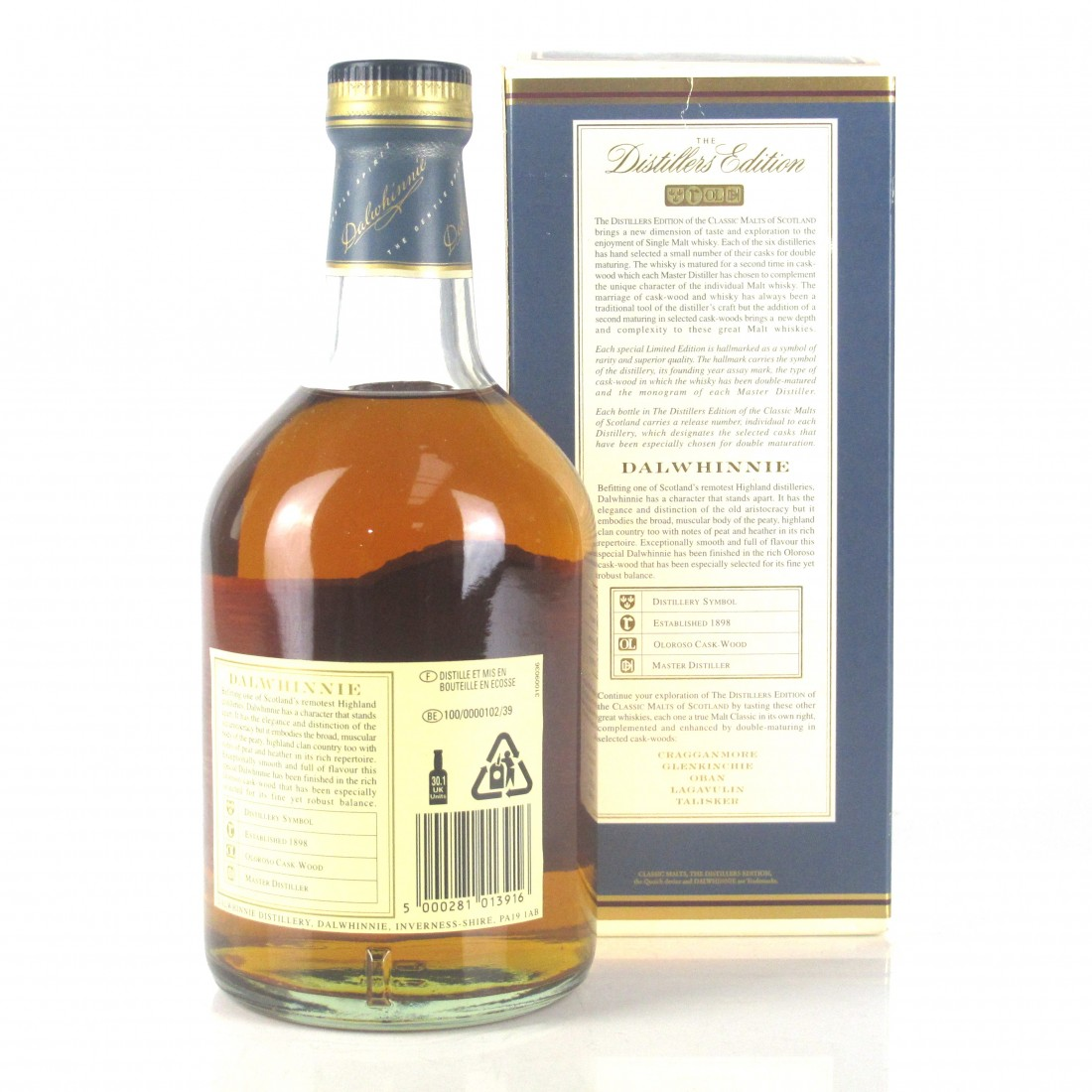 Dalwhinnie 1989 Distillers Edition