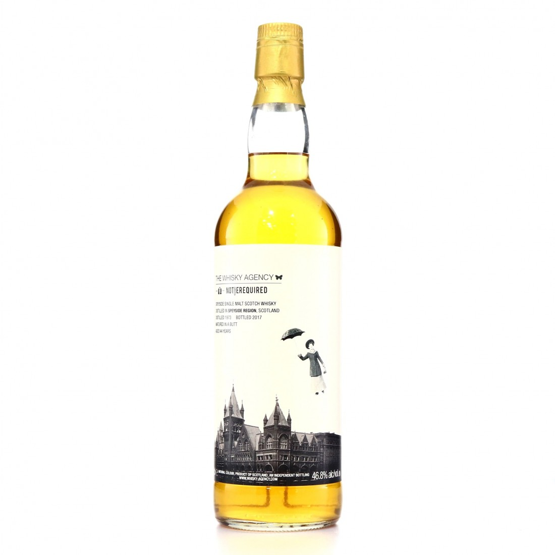 Speyside Single Malt 1973 Whisky Agency 44 Year Old