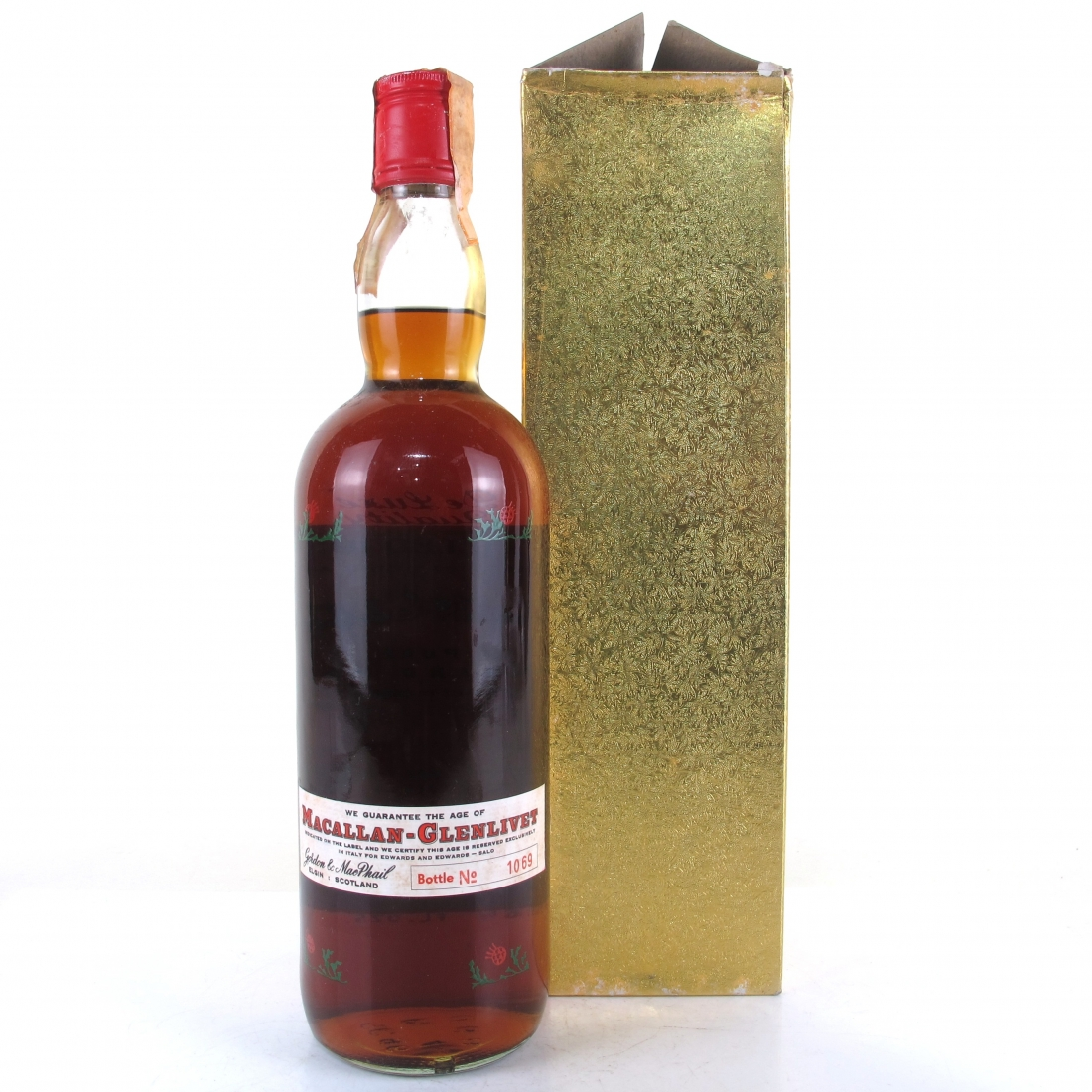 Macallan 1937 Gordon and MacPhail 37 Year Old / Pinerolo Import