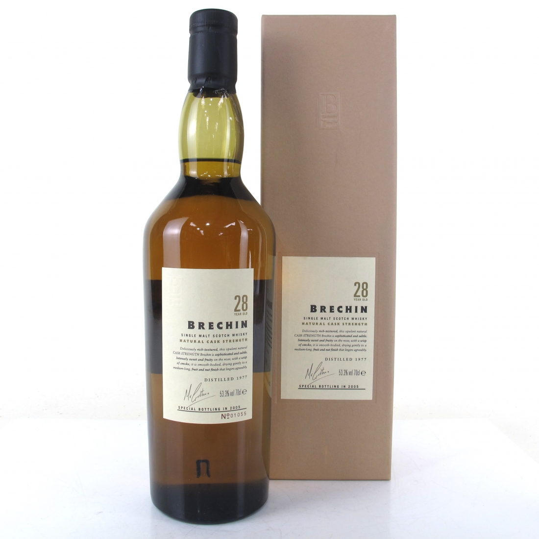 North Port / Brechin 1977 Cask Strength 28 Year Old