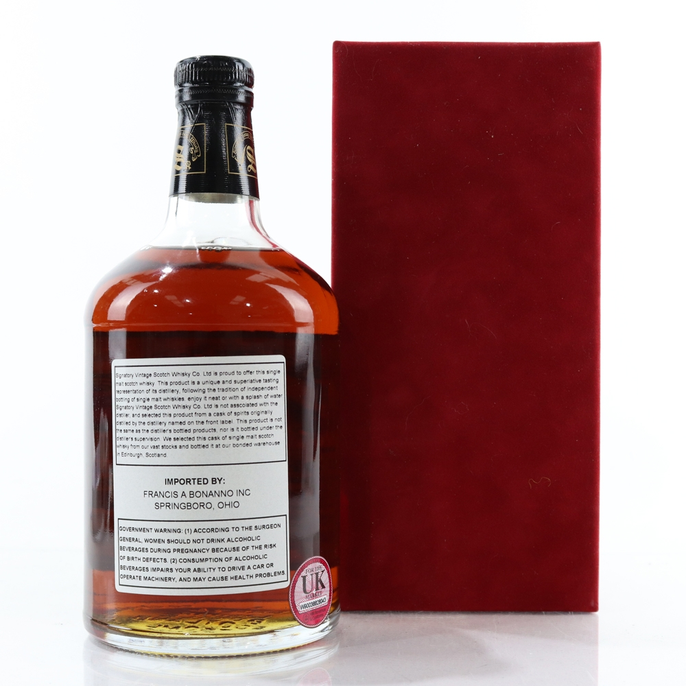 Macallan 1971 Signatory Vintage 27 Year Old 75cl / US Import