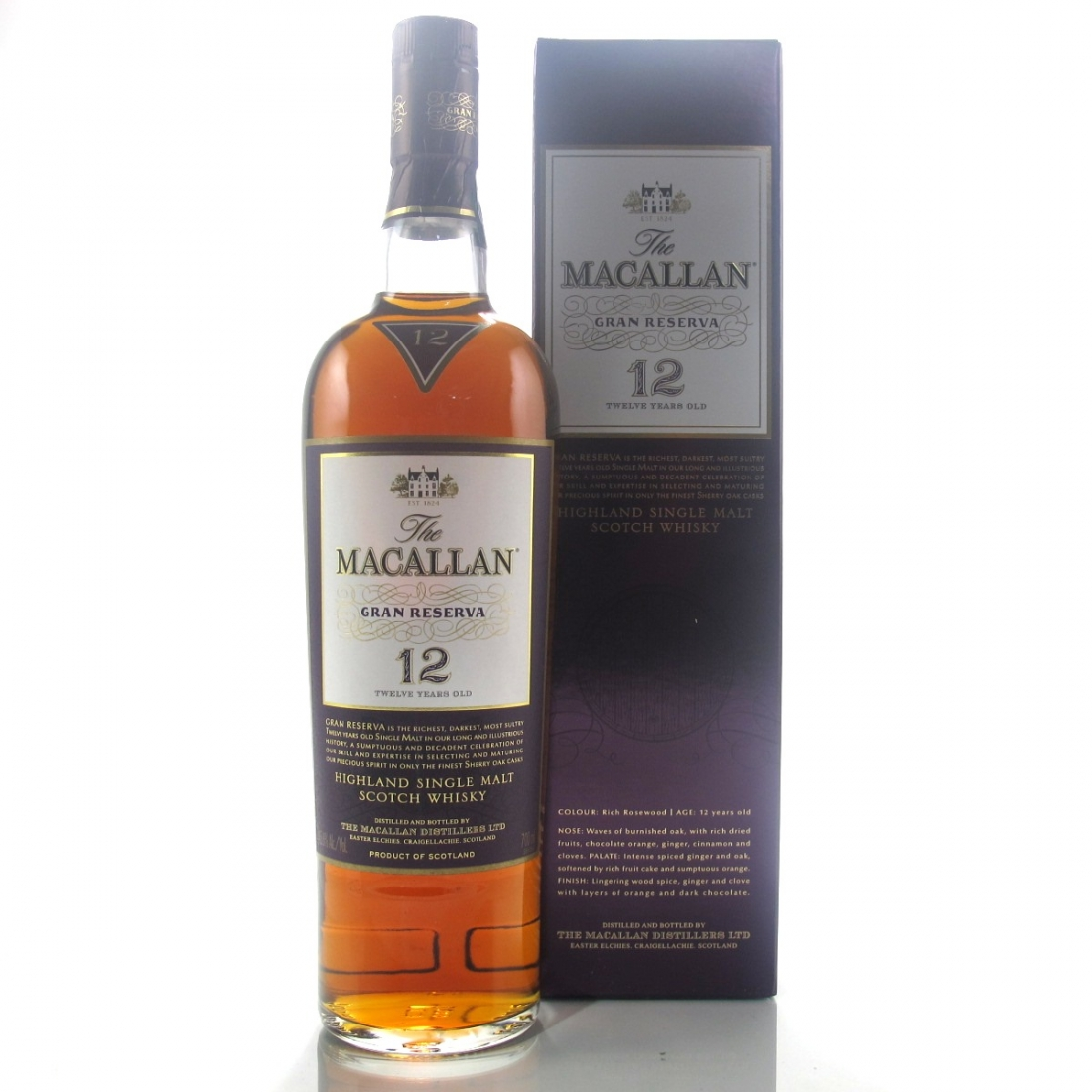 Macallan 12 Year Old Gran Reserva