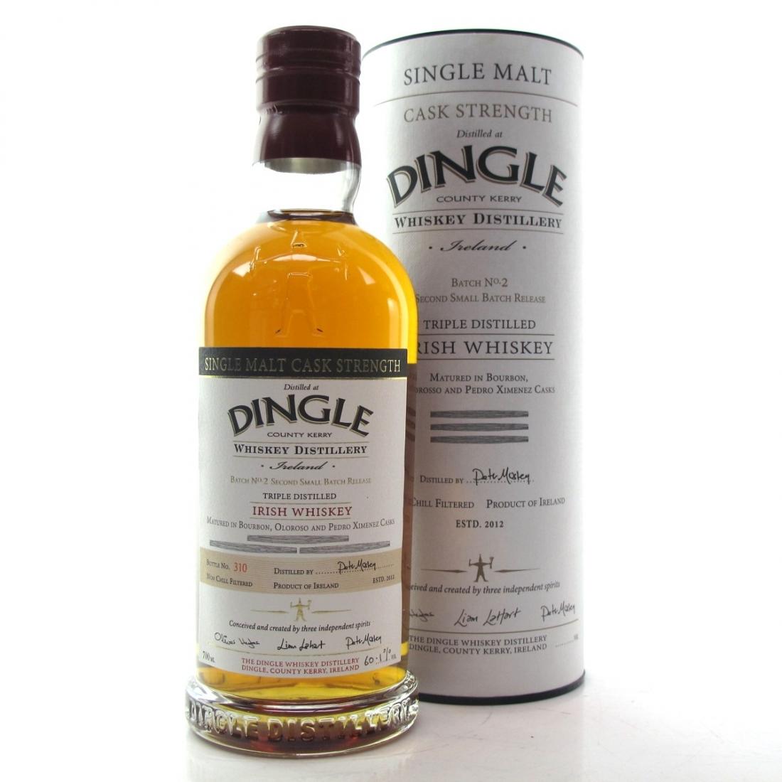 Dingle Irish Single Malt Cask Strength Batch No. 2 / Bourbon and Sherry Casks