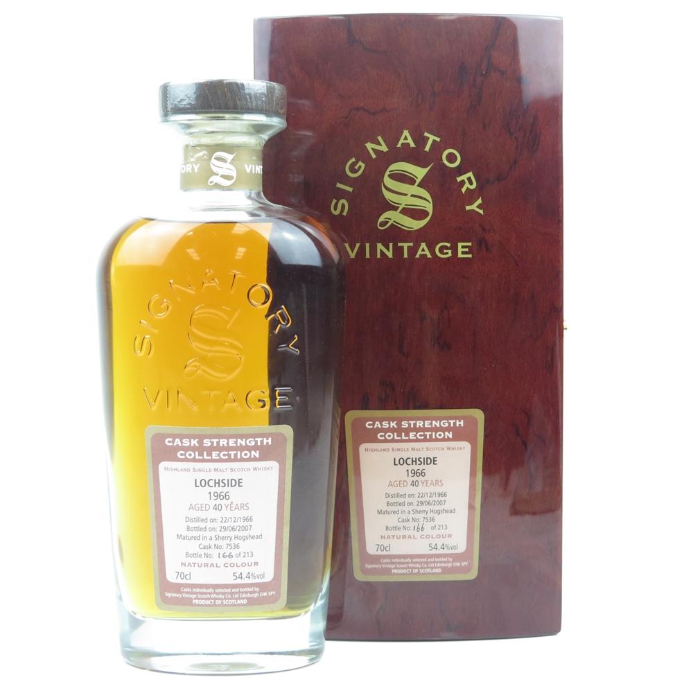 Lochside 1966 Signatory Vintage 40 Year Old
