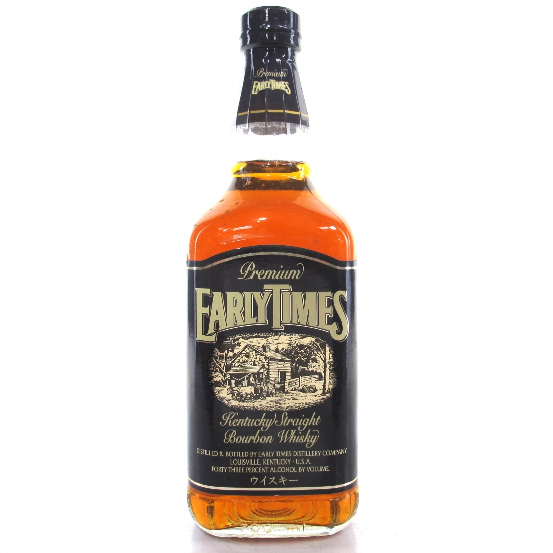 Early Times Kentucky Straight Bourbon 1990s / Japanese Import