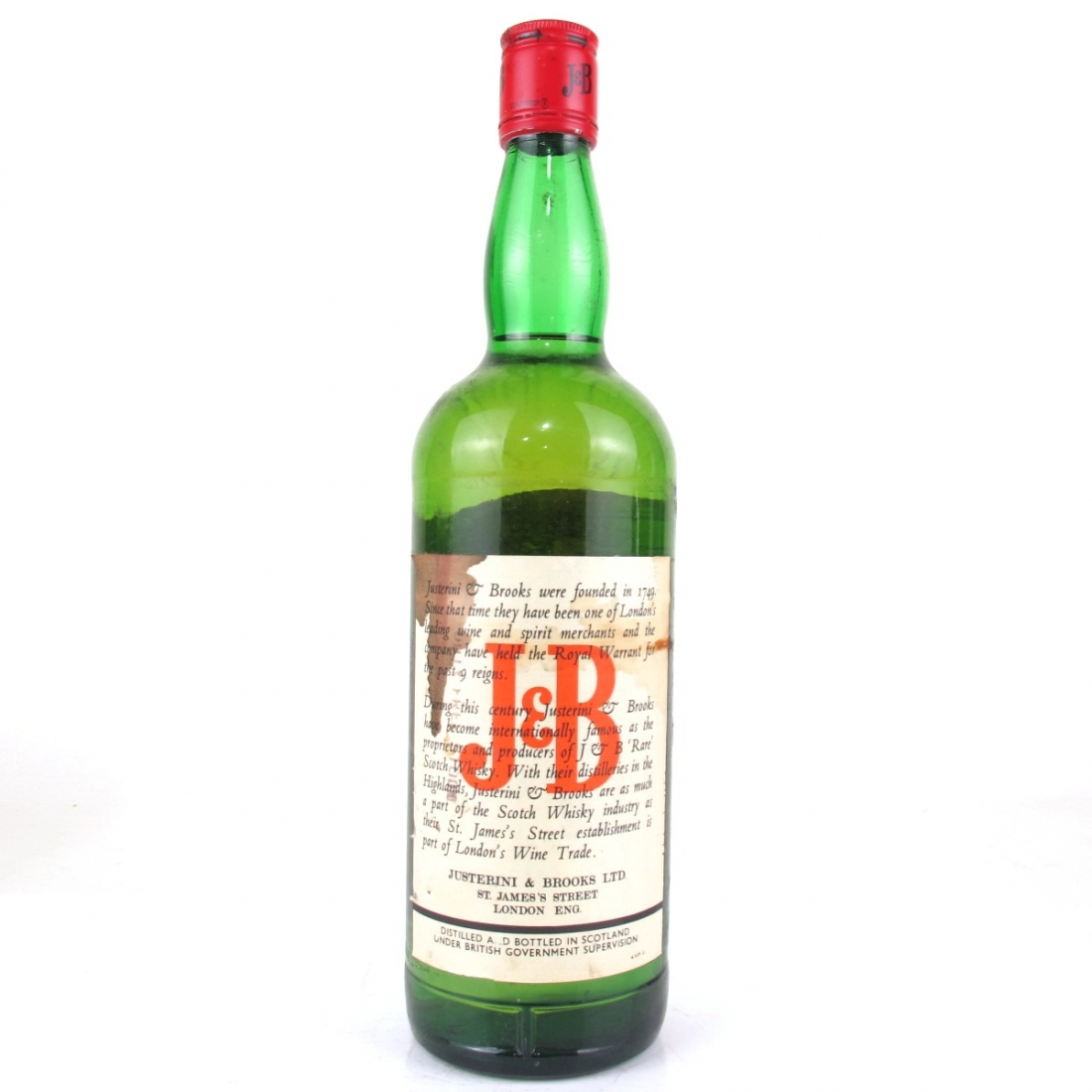 J&B Rare 1980s / Indian Import