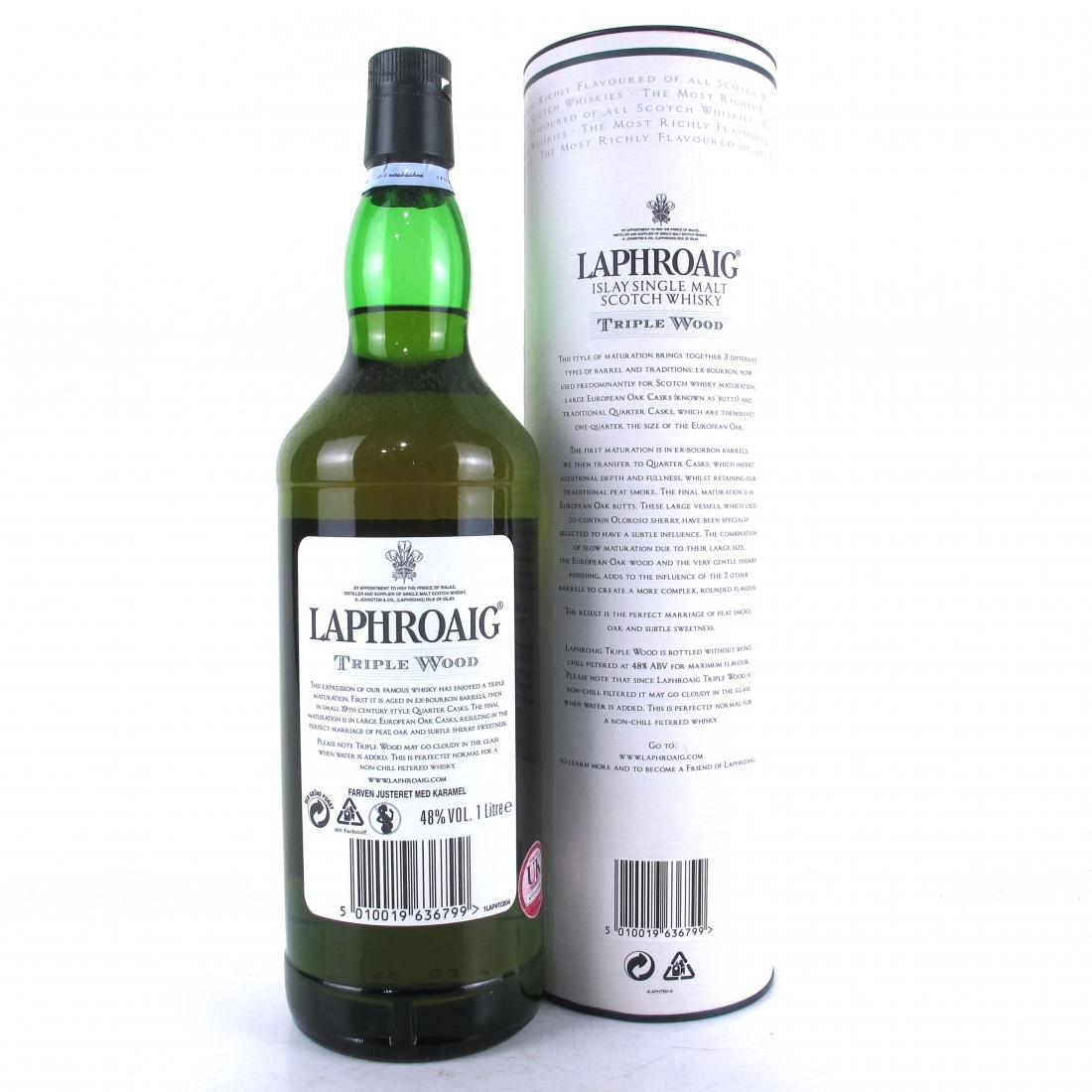 Laphroaig Triple Wood 1 Litre